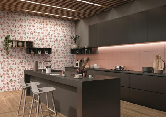 Rivestimento cucina Paint fard blossom fard
