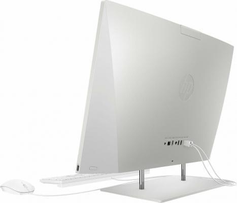 Computer all in one di HP, dettaglio laterale