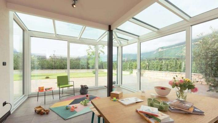 Terrazzo con veranda - Finstral
