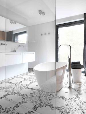Rivestimenti bagno moderno, Ceramica bardelli, piastrelle collezione Eve