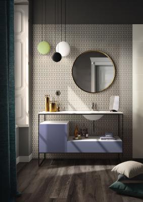 Rivestimenti bagno moderno, Imola ceramica, piastrelle della collezione Mash up