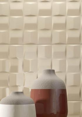 Rivestimenti bagno moderno, Marazzi, dettaglio linea Pottery