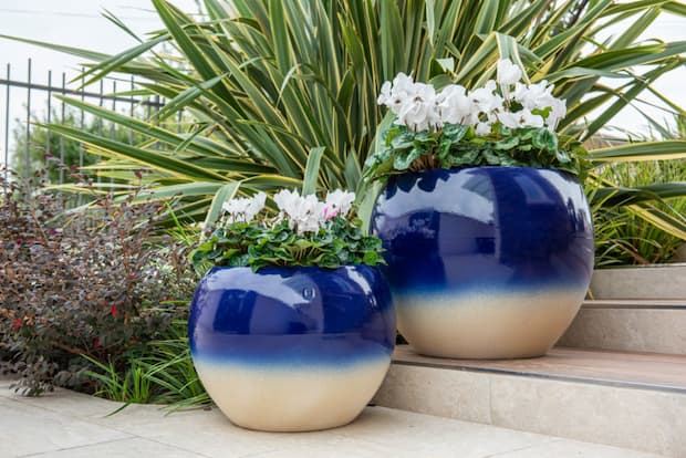 Vasi per esterno in ceramica, Portofino, Pot à Porter