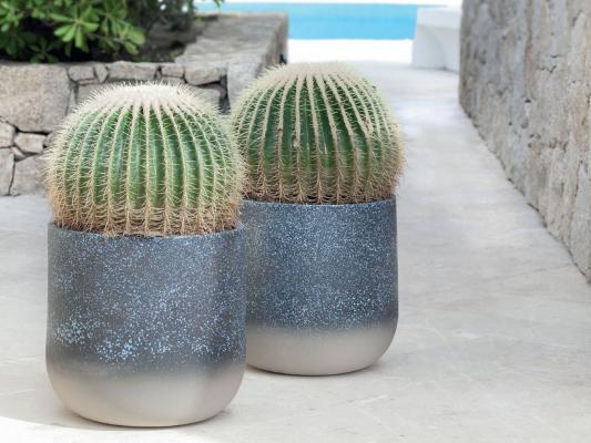 Vasi per esterno in ceramica, Porto Cervo, Pot à Porter