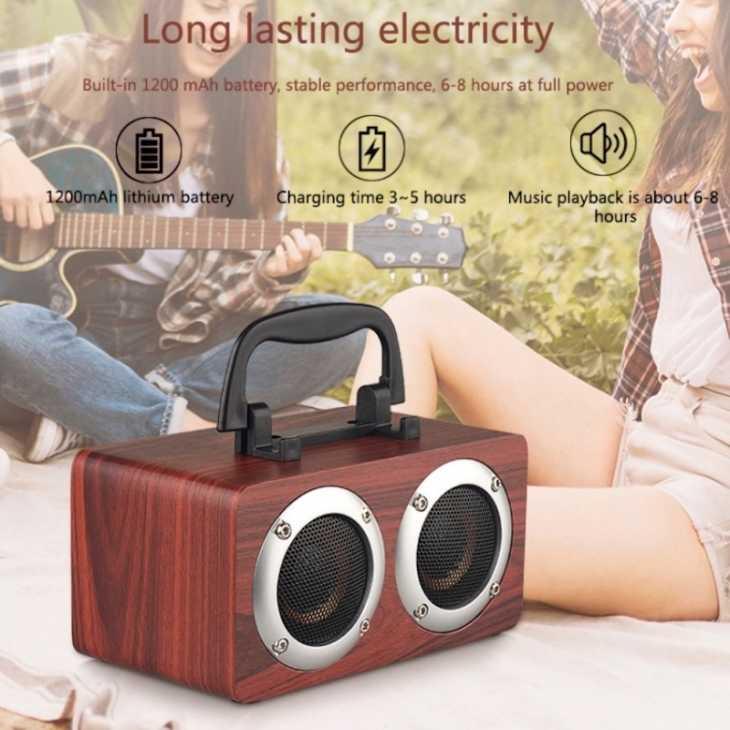 Altavoces Bluetooth de estilo vintage - Foto: eBay