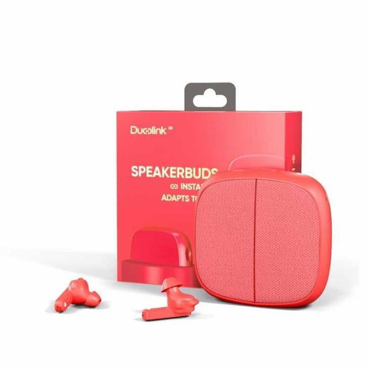 Altavoz Bluetooth con auriculares Duolink - Foto: eBay