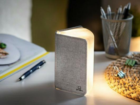 Lampada smart a forma di libro, Gingko - Foto: eBay