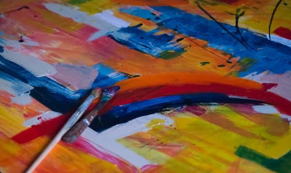 Una pintura puede inspirar la paleta de colores - Pexels