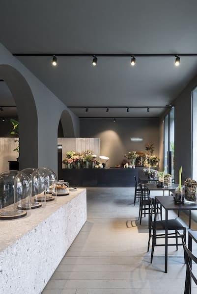 Un restaurante en el que hemos estado puede ser inspiración para la paleta - Pinterest