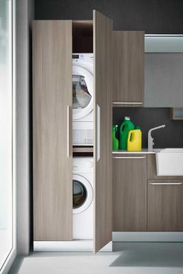 Mobile lavatrice asciugatrice Atlantic di Diotti