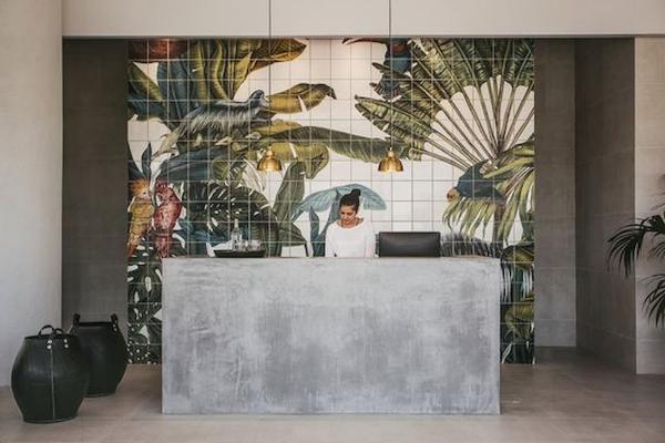 Lo stile tropical chic si adegua a varie funzioni - Pinterest