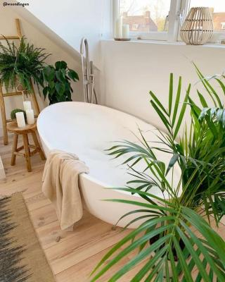 Il bagno è l'ambiente che più di ogni altro si presta a questo stile - Pinterest