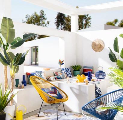 Vari sono gli stili di uno spazio outdoor. Tra questi lo stile esotico - Maisons du Monde