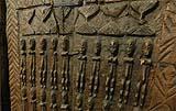 Dettaglio di un'antica porta africana, by Simone Marro
