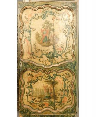 Porta barocca riccamente decorata, by Simone Marro