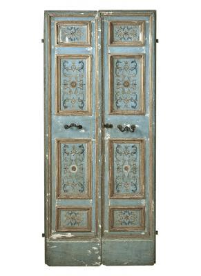 Porta seicentesca con decorazioni policrome, by Porte del Passato