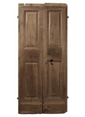 Porta umbra seicentesca a due battenti, by Porte del Passato