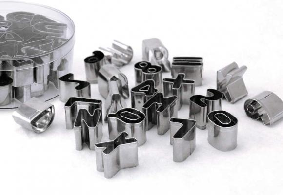 Joyoldelf Formine per biscotti lettere dell'alfabeto