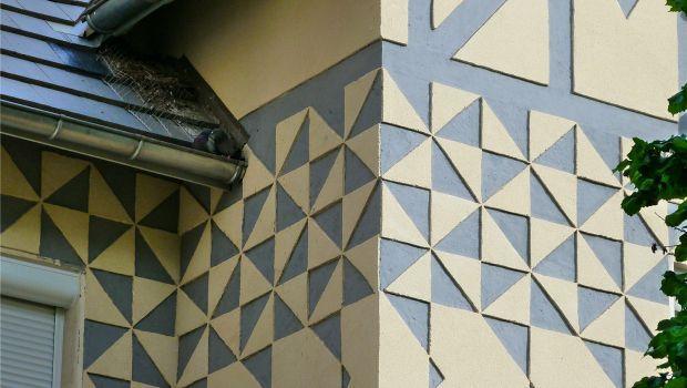 Dipingere le pareti con forme geometriche: come fare