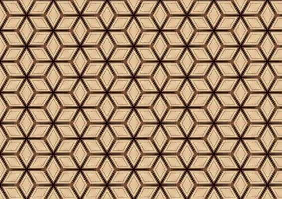 Tinte geometriche cubiche