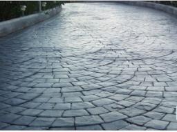 pavimentazione in calcestruzzo stampato San pietrino a coda di pavone realizzazione ediliziarestauro.com
