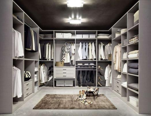 Cabina armadio senza ante MAB Home Furniture