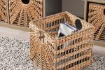 Cestino Lustigkurre in giacinto d'acqua e pianta erbacea - Foto: Ikea