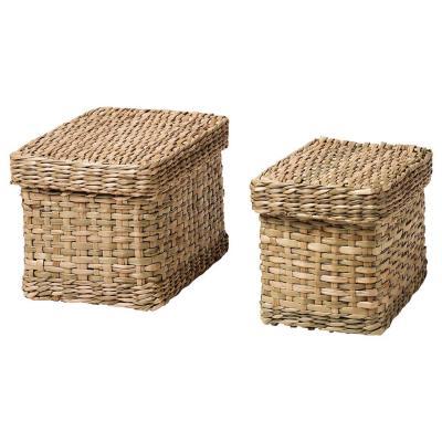 Set di due scatole Lurpassa - Foto: Ikea