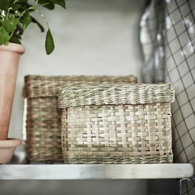 Set di due scatole Lurpassa, in fibra naturale - Foto: Ikea