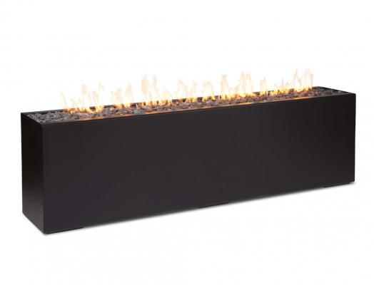 Focolare da esterni Komodo, colore nero - Foto: Bluefires