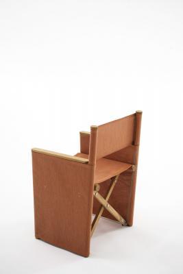 Seduta pieghevole ORSON con rivestimento in Batyline - Foto: RODA