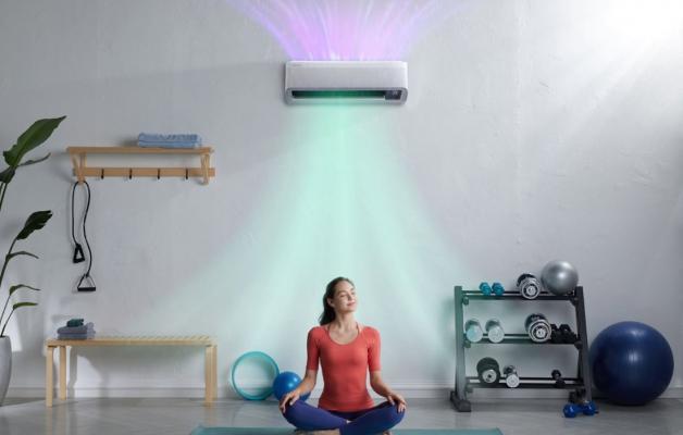 Climatizzatore WindFree Pure 1.0, silver - Foto: Samsung