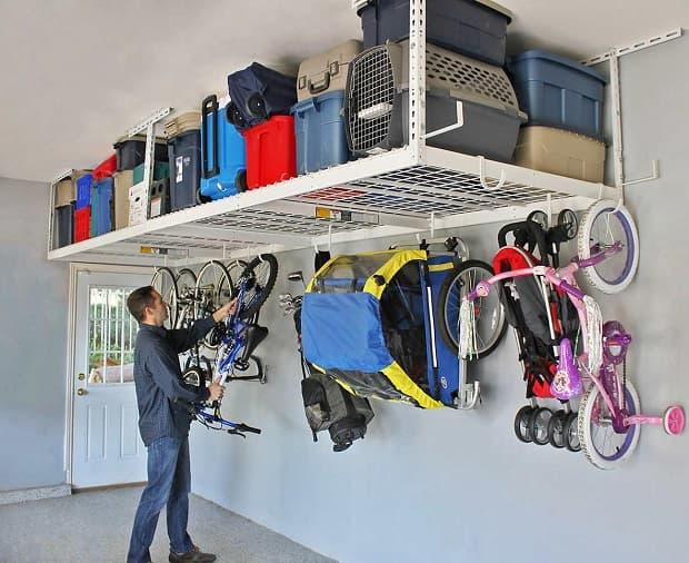 Profitez de l'espace au plafond du garage, de decoratorist.com