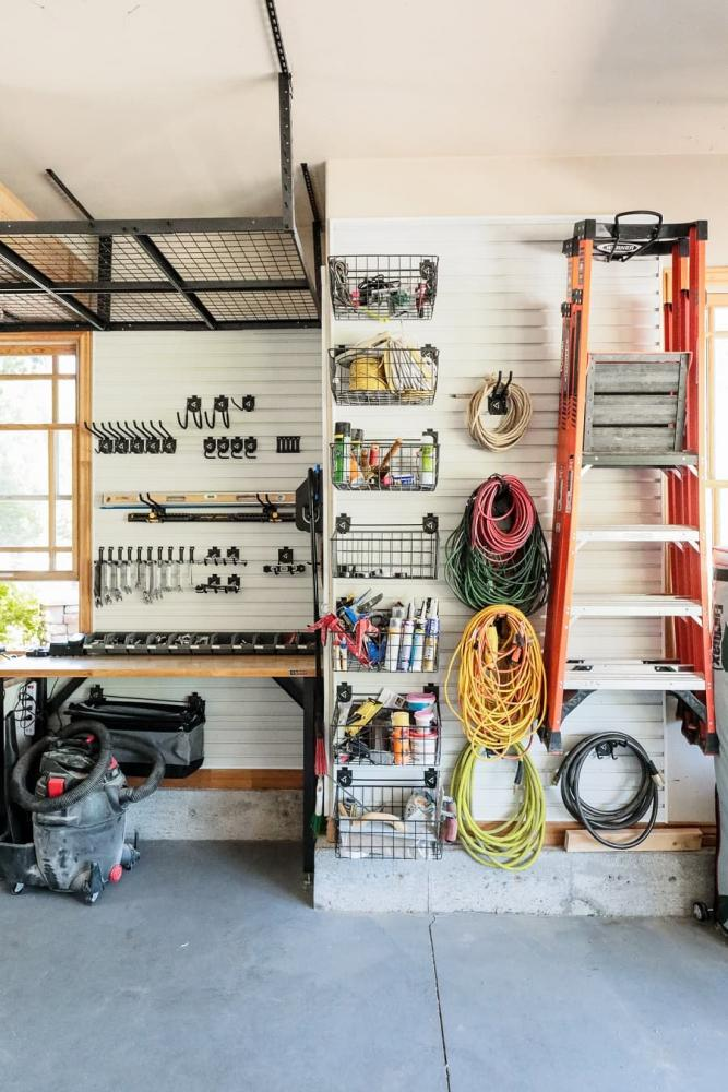Organizzare garage, da chrislovesjulia.com