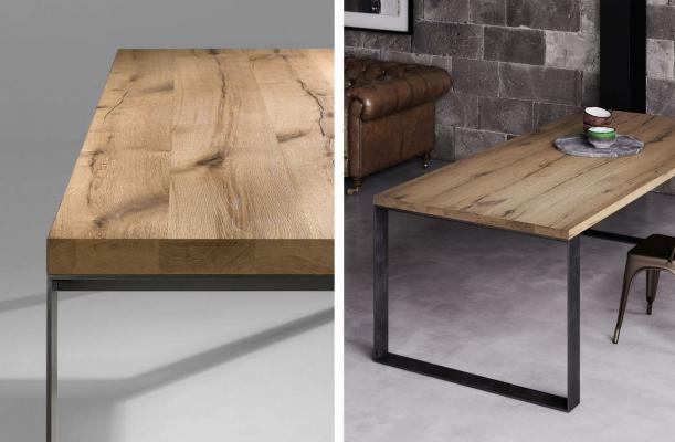 Fuorisalone 2021 - Creazioni Pizzolato Tavoli con Haelty.Wood di Milesi