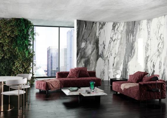 Fuorisalone 2021 - Tecnografica - Pannello decorativo Arabescato 1