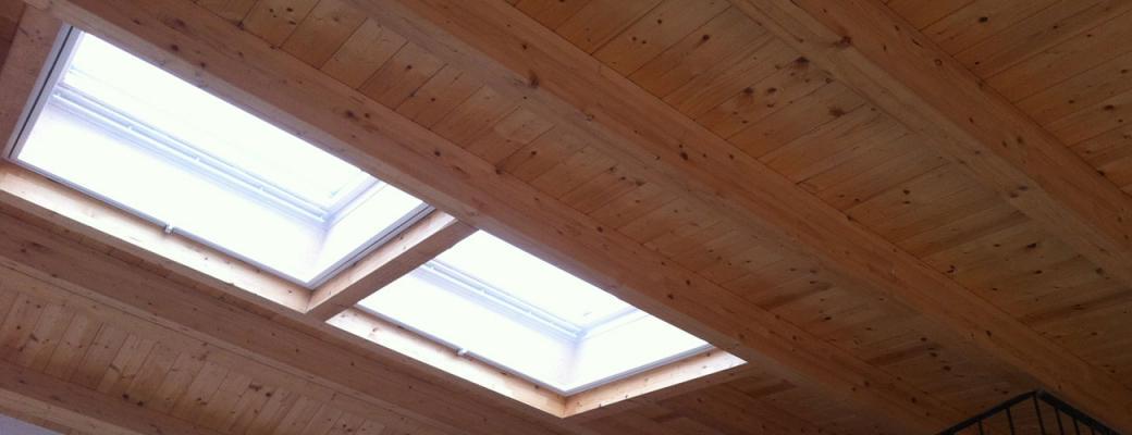 Rifacimento tetto, arch Michela Pasquarelli