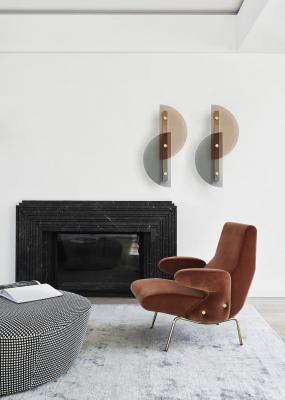 Lampade a muro, Arflex, modello Papillon