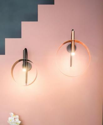 Lampade da muro, Riflessi, modello loop applique