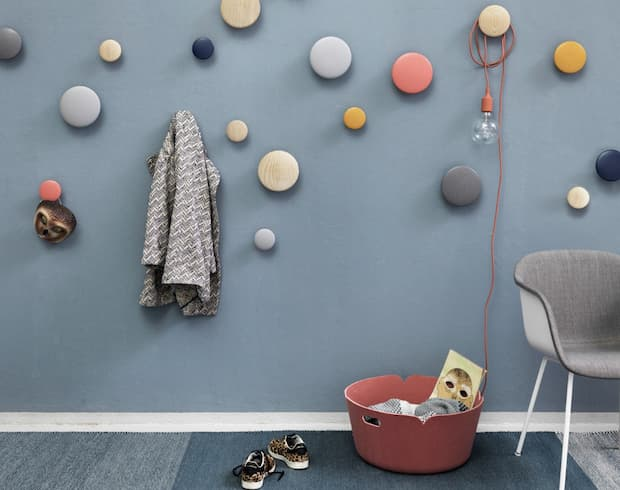 Colgador de pared, Tanini Home, colección Muuto