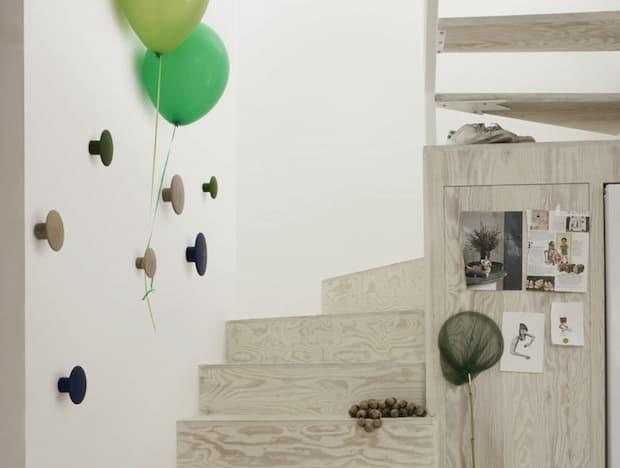 Colgador de pared, Tanini Home, modelo Dots, colección Muuto