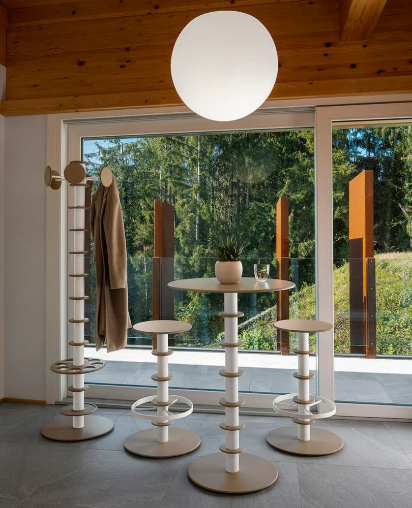 Porta abiti a piantana, VittEr Design, modello Pertus
