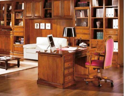 Studio con libreria - Falegnameria Chiola