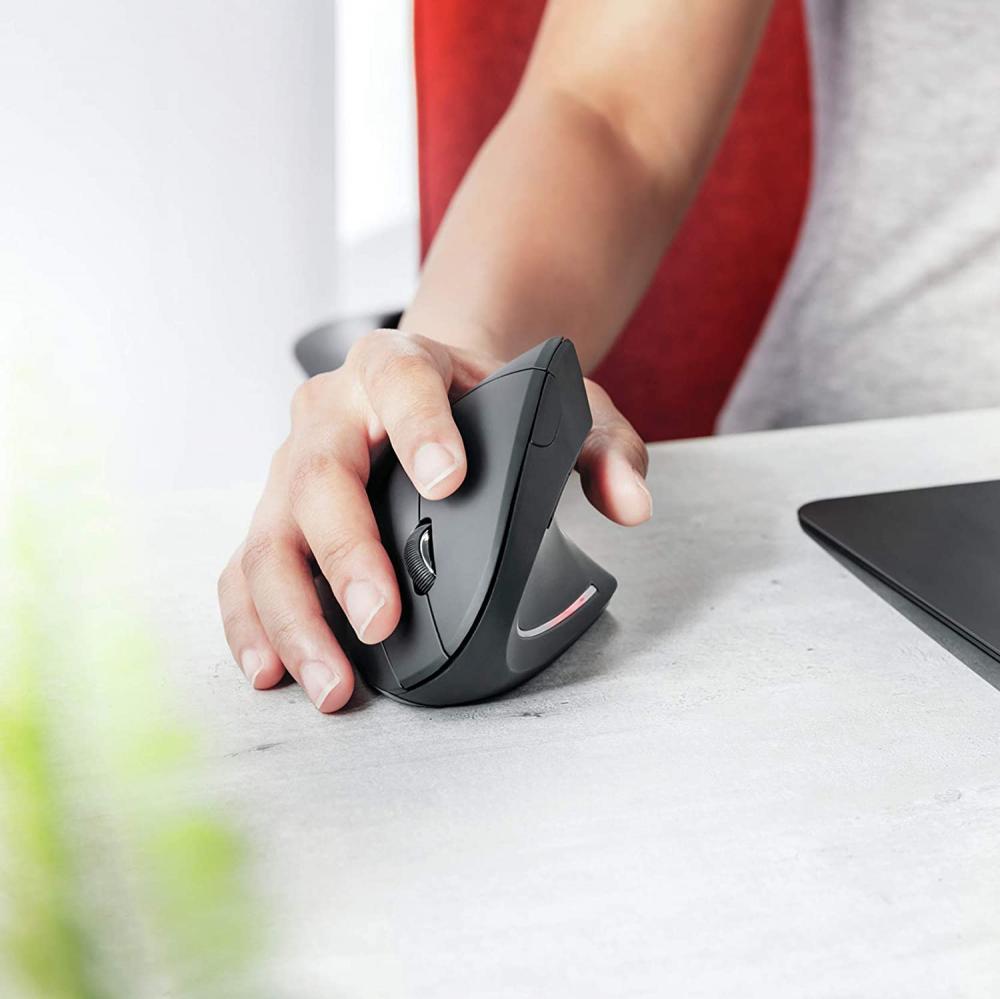 Mouse verticale Cablato Trust
