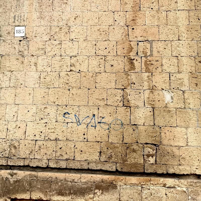 Umidità di risalita nei primi 50 cm di altezza della muratura