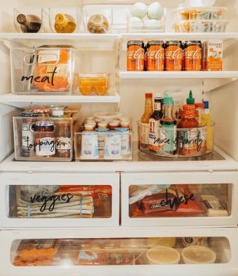Disporre i cibi in frigo, da buzzfeed.com