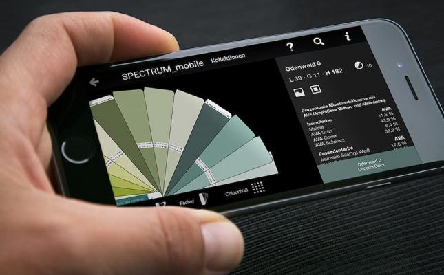 Simulare i colori pareti, Spectrum mobile