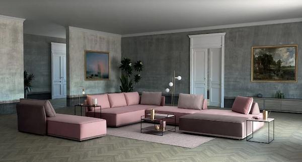Sofá Domino de Colombini Casa