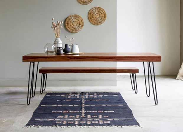 Mesa de palisandro de Tikamoon