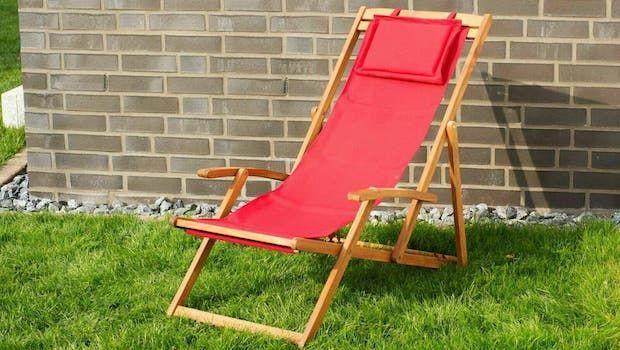 Sedie a sdraio per terrazzi e giardini, quale modello scegliere?